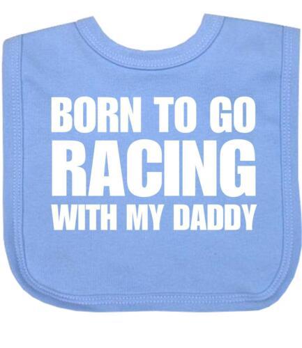 Racing Boy Baby Bib