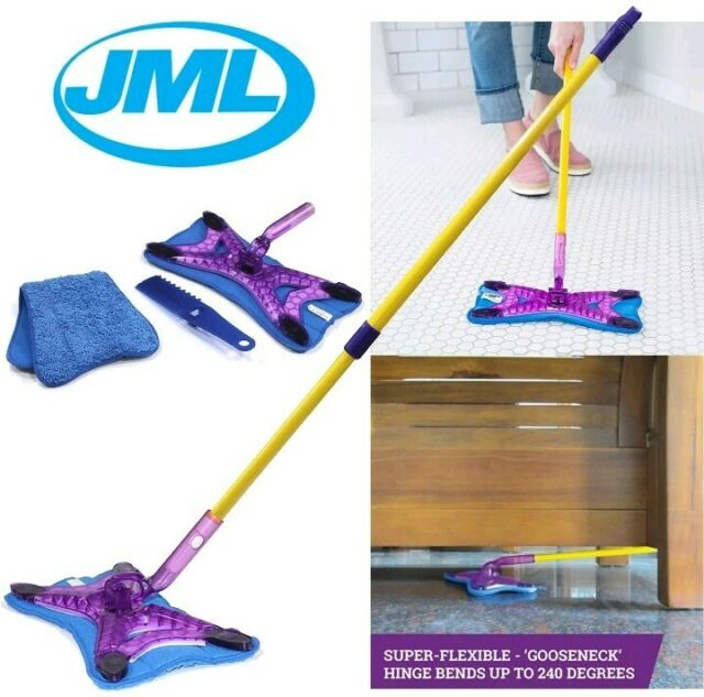 Sweeper Pet Hair Moisture /& Dust Foam Sweeper Mop FREE POST JML X Power Mop