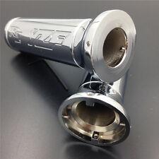 """Billet 7/8"""" Handlebar Grips fit Yamaha YZF-R1 YZF R1 Japanese bike Chrome"""