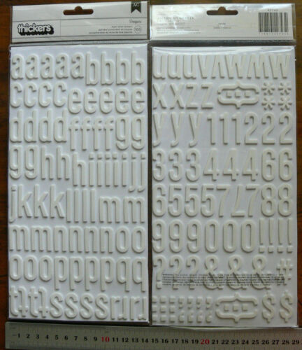 Daiquiri Fancy IVY Foam RED /& WHITE ThickerStickers Av20-30H /&4-28mmW Choice L1R