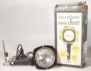 MOVIE LIGHT W/ BRACKET