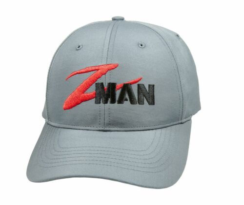 Z-Man Structured Tech Hat Baseball Cap Z-Man Logo Bass Fishing Hat