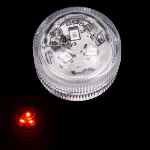 led submersible light battery waterproof underwater pool pond lighting fashion