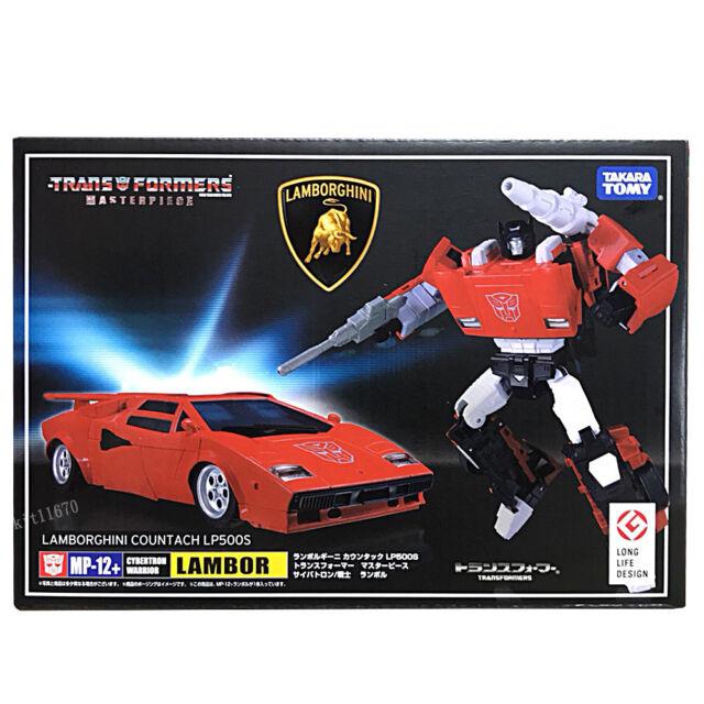 Stock  Transformers Masterpiece MP-12+ Plus Lambor Sideswipe Lamborghini LP500S