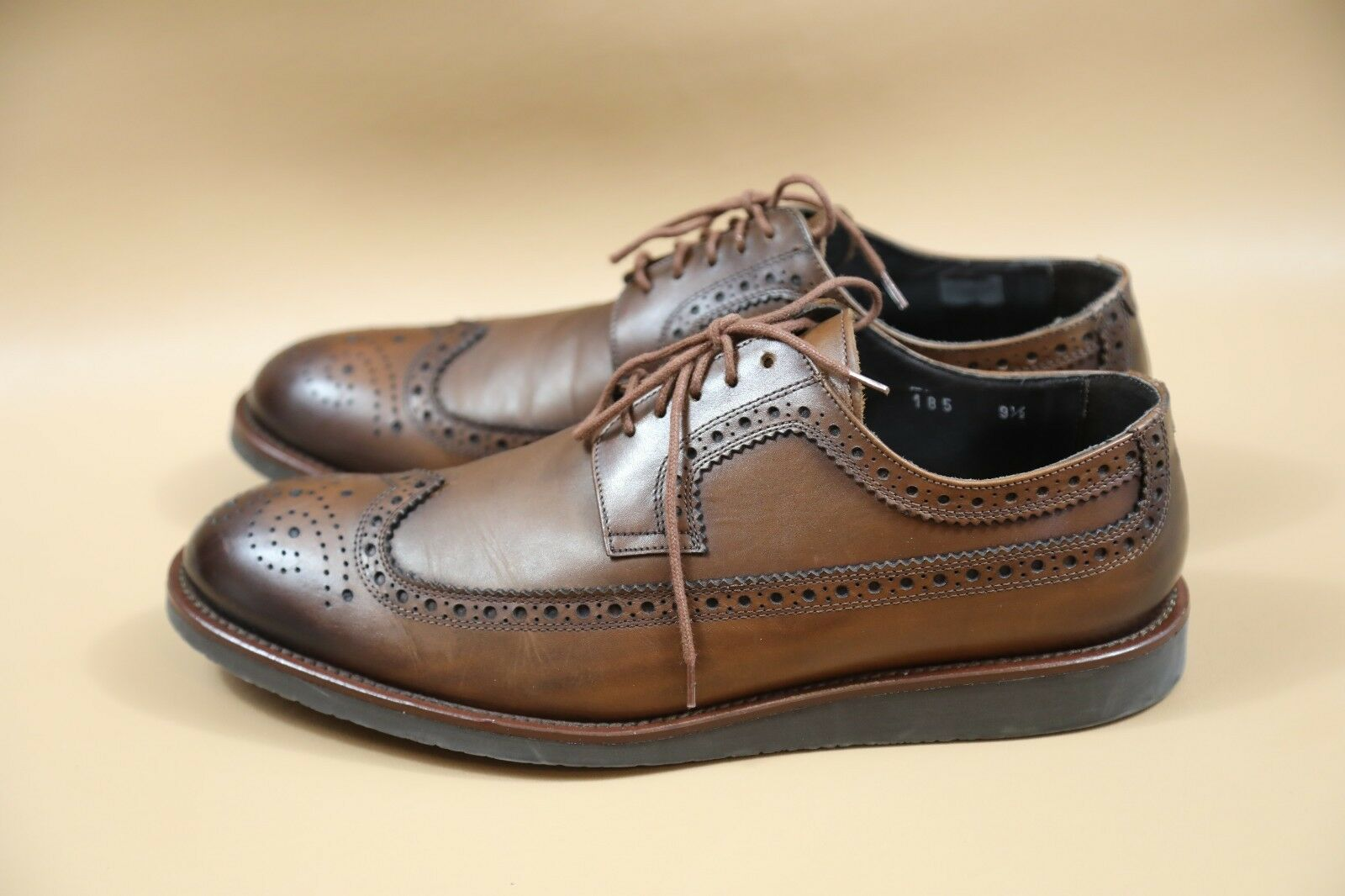 534a164c18af ... To To To Boot New York Brown Wing Tip Oxfords Shoes Size 9.5 M d7a46c  ...
