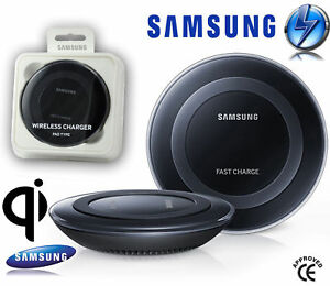 chargeur sans fil fast charge pad type samsung galaxy s6 s7 edge induction ebay. Black Bedroom Furniture Sets. Home Design Ideas