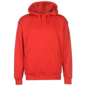 f965812bffb Image is loading Brand-New-Slazenger-Pullover-Hoody-Mens-Red-Jumper-