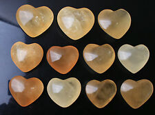 Wholesale Price 2.2lbs//20-25pcs 30mm Yellow Calcite Crystal Ball+Free Stand