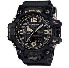 Casio G-Shock * Mudmaster GWG1000-1A Solar Triple Sensor Military Black Resin