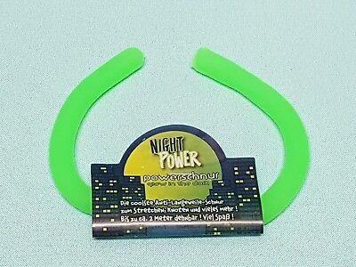 """Sporting Xtreme Fun Sports Power Schnur Glow In The Dark """"grün"""" Powerschnur Gummiband Basteln & Kreativität Sonstige"""