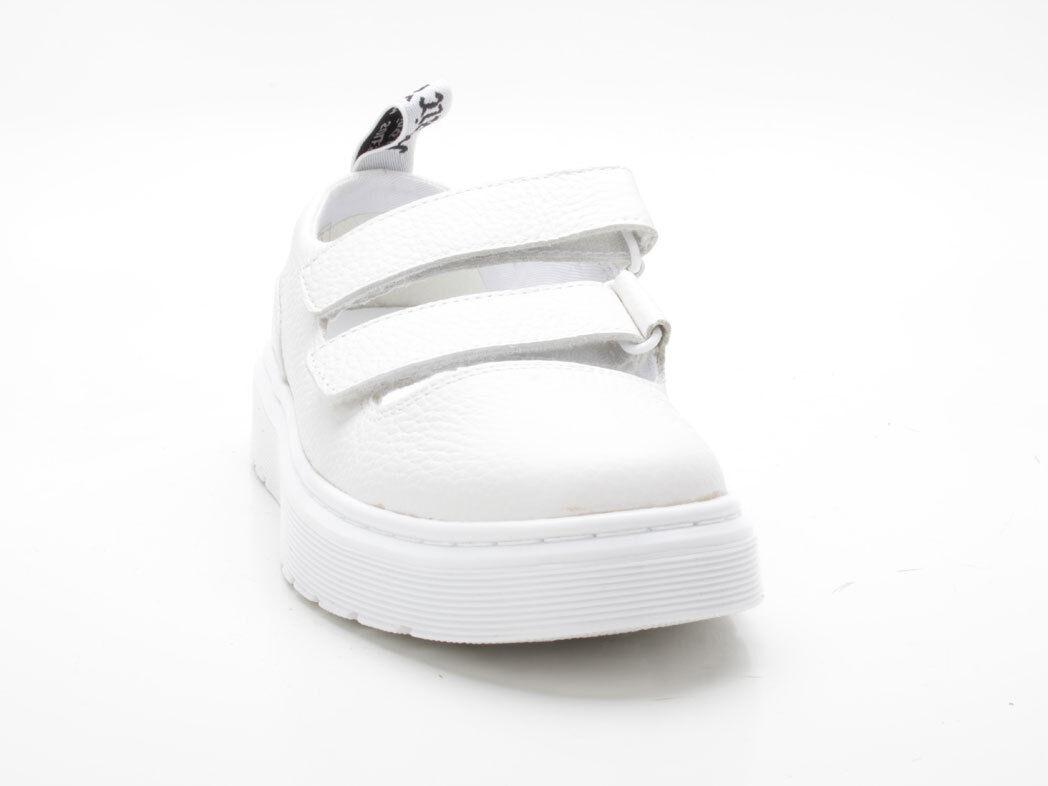 Dr Martens Doc Martens Mae en cuir blanc blanc blanc Aunt Sally + Venice Docs Air Wair 3e361b