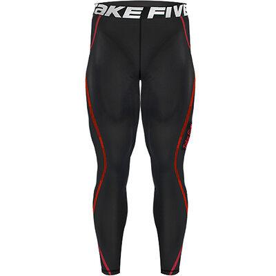 New 197 Black Skin Tights Compression Base Layer Running Pants Mens