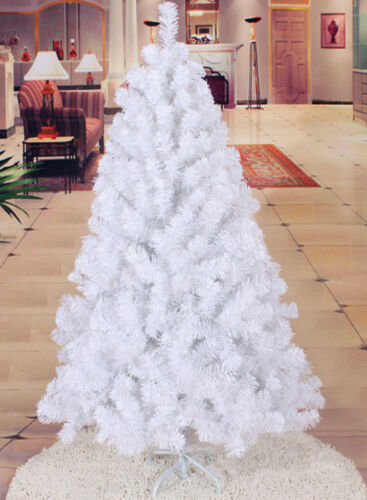 Home Furniture Diy 6ft 7ft 180cm Christmas Tree Bushy Pine Look With Metal Stand Green Black White Kisetsu System Co Jp