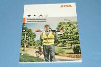Stihl Cutting Attachment Parts & Accessories Catalog For Trimmers 0456-681-3023