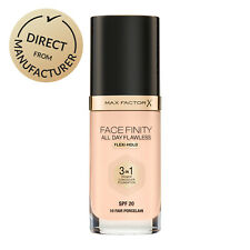 Max Factor Facefinity All Day Flawless Primer Concealer Foundation 3 in 1 SPF20