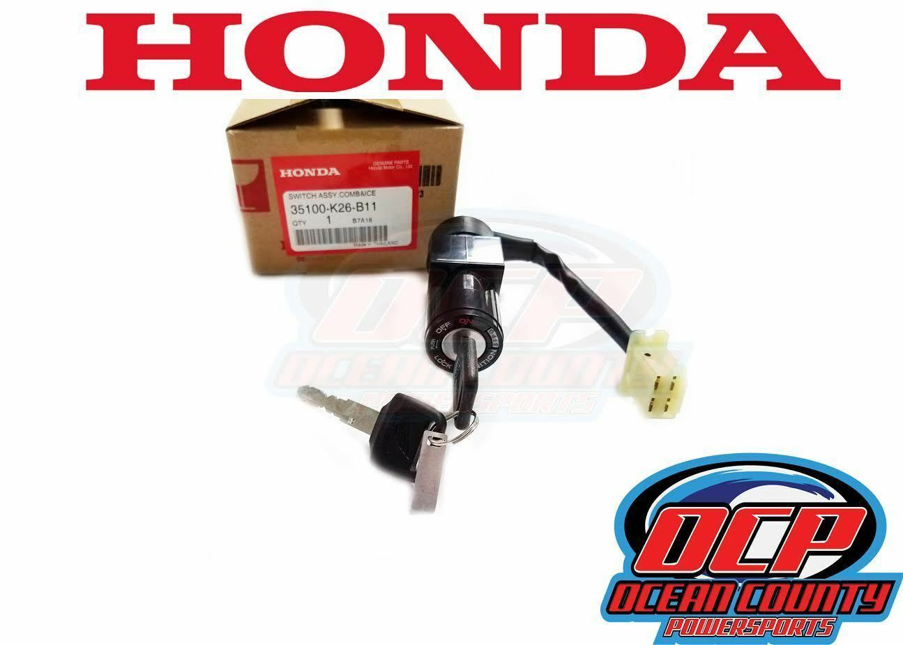 Honda 2017-2018 Grom Turn Signal Switch 35200-K26-B11 New Oem