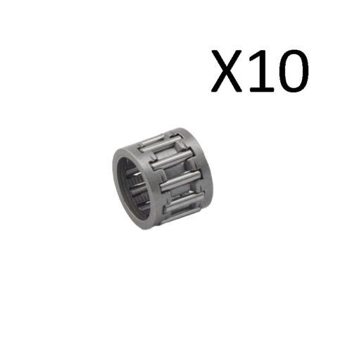 10X Piston Pin Roulement à Aiguilles Pour Stihl 038 MS380 MS381 tronçonneuse 9512 003 3140