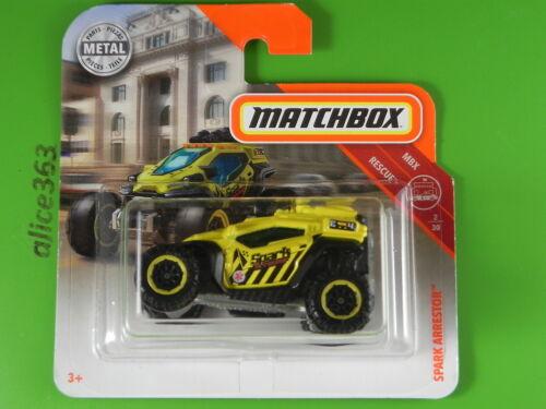 39-nuevo en caja original Matchbox 2018-Spark Arrester-MBX Rescue