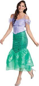 Women's Ariel Deluxe Costume Little Mermaid Disney