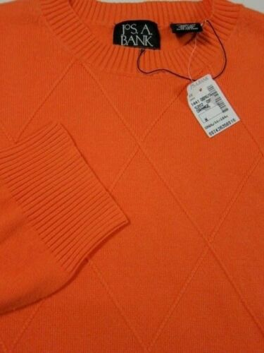 A Nwt con M Signature ligero Bank Suéter de diamante ligero de Jos textura 100 algodón CqxrCwFZ
