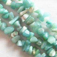 J0045921 5-10mm Amazonite Gem Chip Nugget Freeform Gemstone Loose Bead 34 ""