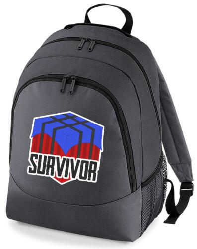 Player Unknown Battlefield PUBG Survivor Crate Backpack Rucksack School Bag