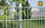 Doppelstabmattenzaun 15m x 1,63m Gitterzaun verzinkt Zaun Gartenzaun Metallzaun