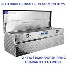 Better Built TriMark TM700-TM729 Toolbox Cabinet Cut Key Replacement Copy