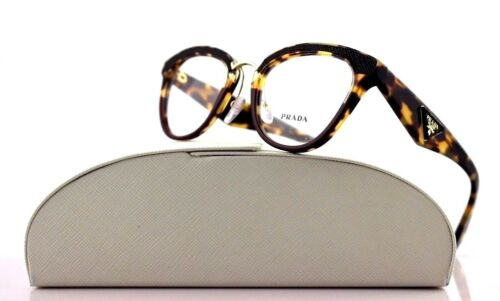 New Authentic PRADA ORNATE Havana Amaranth Eyeglasses Frame 0PR 26SV VHC1O1