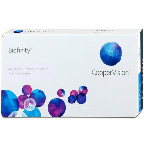 Cooper Vision Biofinity 6er Box Monatslinsen