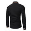 Fashion-Mens-Luxury-Casual-Stylish-Slim-Fit-Long-Sleeve-Casual-Dress-Shirts-Tops thumbnail 5