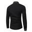thumbnail 5 - Fashion-Mens-Luxury-Casual-Stylish-Slim-Fit-Long-Sleeve-Casual-Dress-Shirts-Tops
