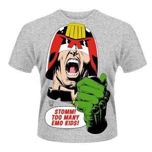 Kids Emo Officially Sizes Licensed Dredd T shirt Various Judge qE56n