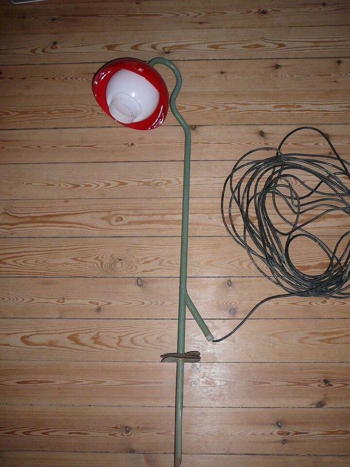 Bent Karlby, Klokkeblomst udendørslampe, bedlampe