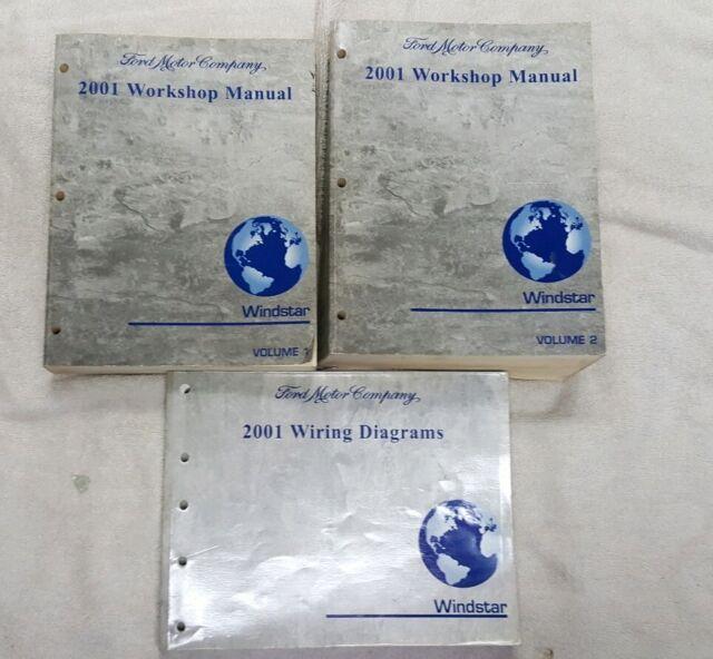 2001 Ford Windstar Service Repair Workshop Manuals