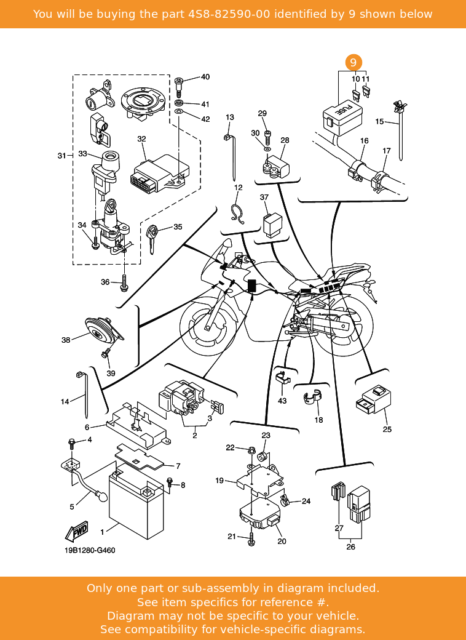 Yamaha Fz6 Fazer 2007 Main Wiring Loom Wiring Harness For Sale Online Ebay