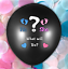Giant-36-034-Black-Gender-Reveal-Balloon-Boy-Girl-Confetti-Baby-Shower-Party thumbnail 5