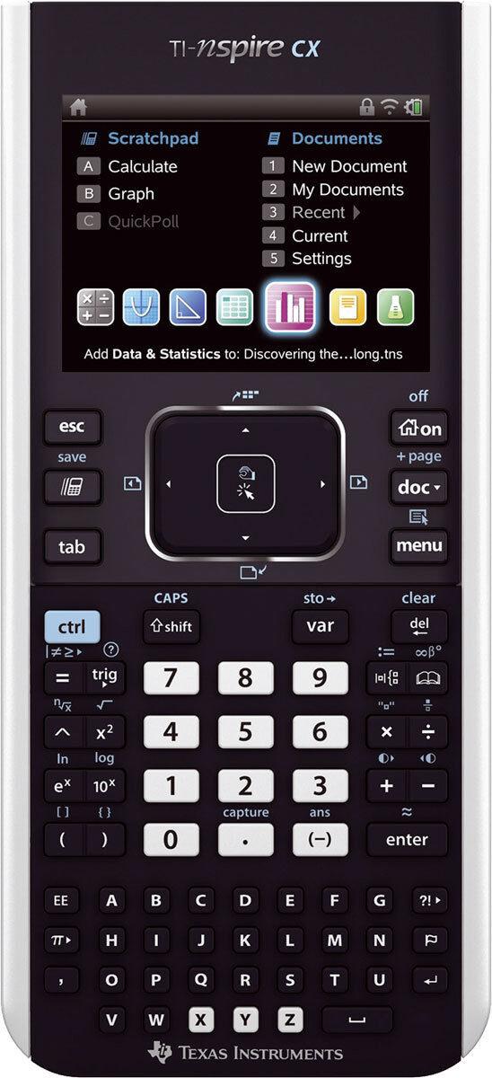 TI-Nspire CX Texas Instruments Grafikrechner Farbe-Display Farbanzeige Farbanzeige Farbanzeige 11b6f1