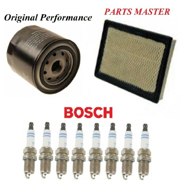 Tune Up Kit Air Oil Filters Spark Plugs Fit DODGE