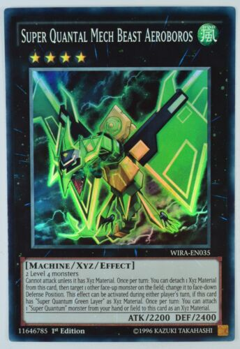 Super Rare 1st Edition Choose from list. WIRA YuGiOh Wing Raiders