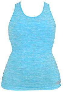 Skechers-Para-Mujer-Activewear-Tops-Sports-Racer-Back-Damas-chalecos-gimnasio-hacer-yoga