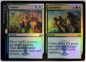 4x Assure //// Assemble NM-Mint English Guilds of Ravnica MTG Magic