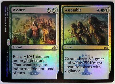 4x Assure //// Assemble Rare NM Guilds of Ravnica MTG