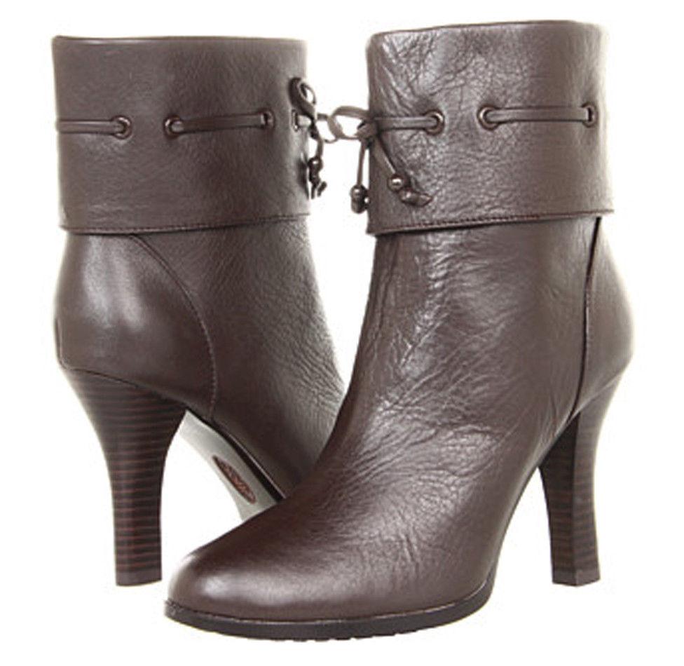 Nuevo  180 Sofft para para para Mujer Playa Zapatos botas al tobillo Botines Café 7M 7.5M 8M 6bead7