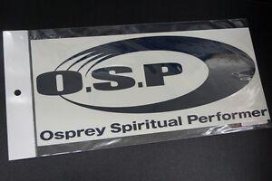 OSP O.S.P STICKER # NAVY  (SIZE:L)