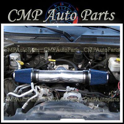 RED 2002 2003 2004 Ram1500 3.7L V6//4.7L V8 Dual Twin Air Intake Filte 3.5
