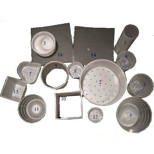 2 cheese mats Mould Kit 13 moulds