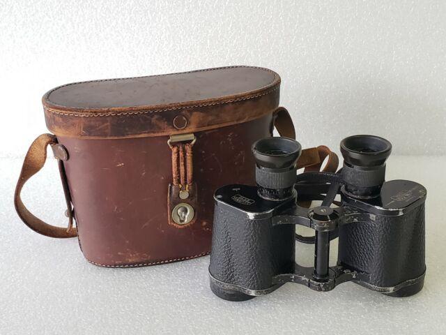 Carl Zeiss Jena Silvamar 6x30 Binoculars in Case Made in