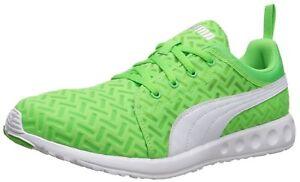 5 8 pour fluo homme Chaussures Power Vert course Cool Puma de Carson Runner Pw7PFRq