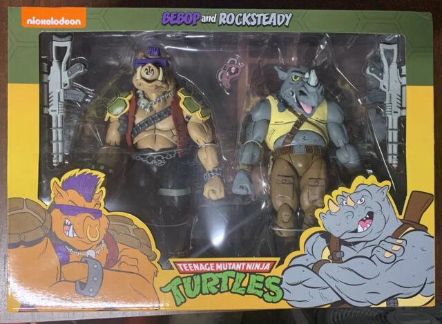 NECA Teenage Mutant Ninja Turtles BEBOP and ROCKSTEADY TMNT